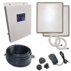 RIPETITORE AMPLIFICATORE STELLA DORADUS STELLABOOST-L4 QUAD BAND GSM UMTS LTE800 LTE1800 SD-L4-LGDW - 800mq - PANNELLO ESTERNO