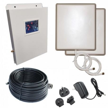 Ripetitore Amplificatore StellaDoradus R4 Quad Band GSM, UMTS / 3G, LTE / 4G - SD-LCD-LGDW - 800mq - Pannello Esterno