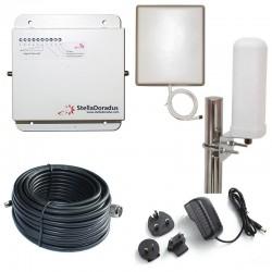 RIPETITORE AMPLIFICATORE STELLA DORADUS STELLAHOME GSM SD-RP1002-G - 1000mq - OMNI ESTERNA
