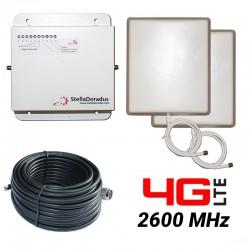 RIPETITORE AMPLIFICATORE STELLA DORADUS STELLAHOME 4G/LTE 2600MHz - SD-RP1002H - 1000mq - PANNELLO ESTERNO