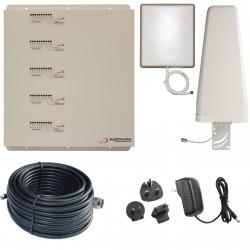 Ripetitore Amplificatore StellaDoradus StellaHome Penta Band GSM, UMTS / 3G, LTE / 4G - SD-RP1002-LGDWH - 1000mq - Yagi Esterna