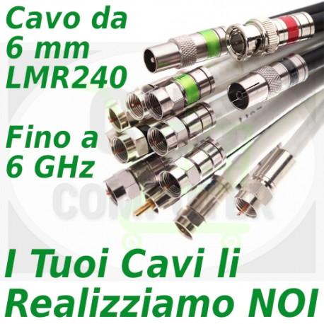 Configuratore Cavi LMR 240 (lunghezza metri cavo)
