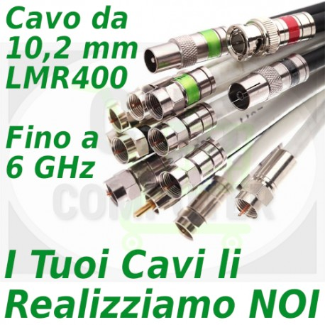 Configuratore Cavi LMR 400 (lunghezza metri cavo)