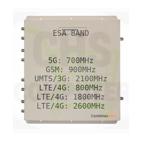 Combinatore Amplificatore MIMO StellaDoradus LTE Combiner Amp Esa Band GSM, UMTS / 3G, LTE / 4G, 5G - Combiner-6